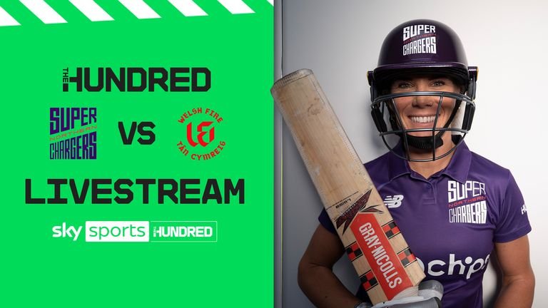 Northern Superchargers take on Welsh Fire on Saturday - live on the Sky Cricket YouTube channel from 2.30pm