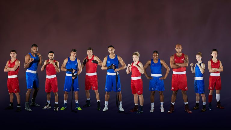 Team GB Olympic boxing