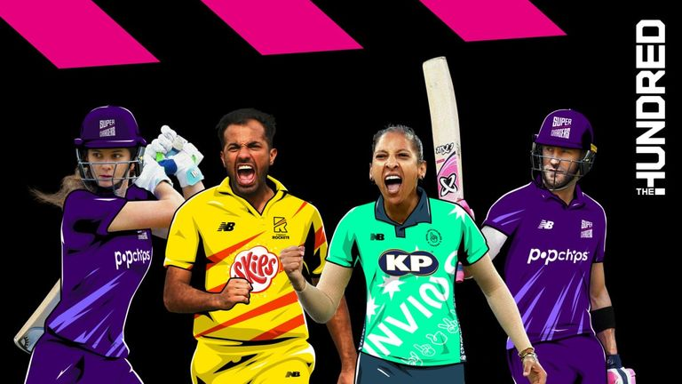 The Hundred teams have announced a host of changes to their overseas line-ups