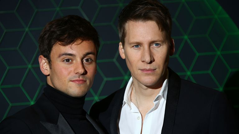Tom Daley and his partner Dustin Lance Black got married in 2017