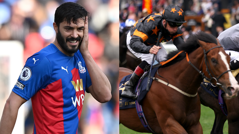 Crystal Palace defender James Tomkins and Rohaan
