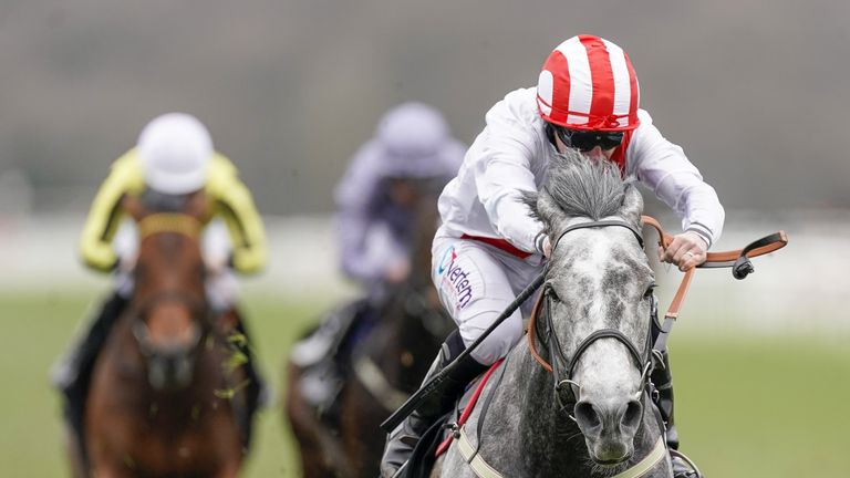 Top Rank wins the Doncaster Mile Stakes