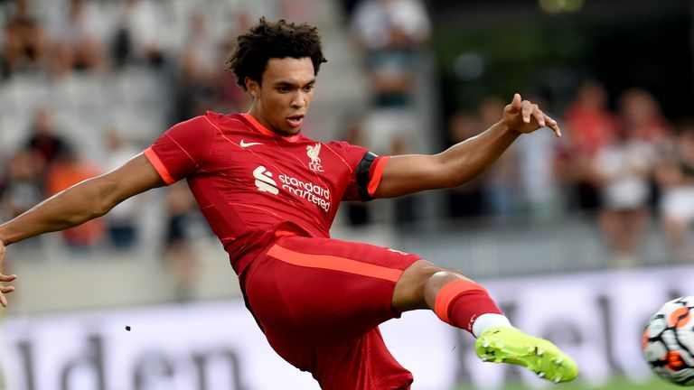 Trent Alexander-Arnold is currently in pre-season training with Liverpool in Austria