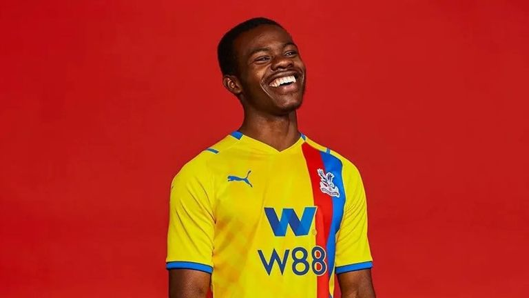 Crystal Palace will again have a yellow away kit