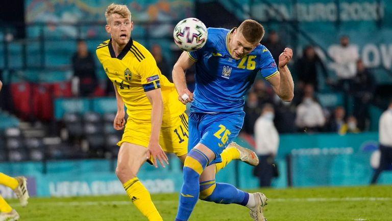 AP - Ukraine vs Sweden