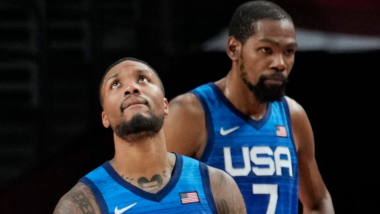 Tokyo Olympics: USA stunned by France for first Olympic men's basketball loss since 2004