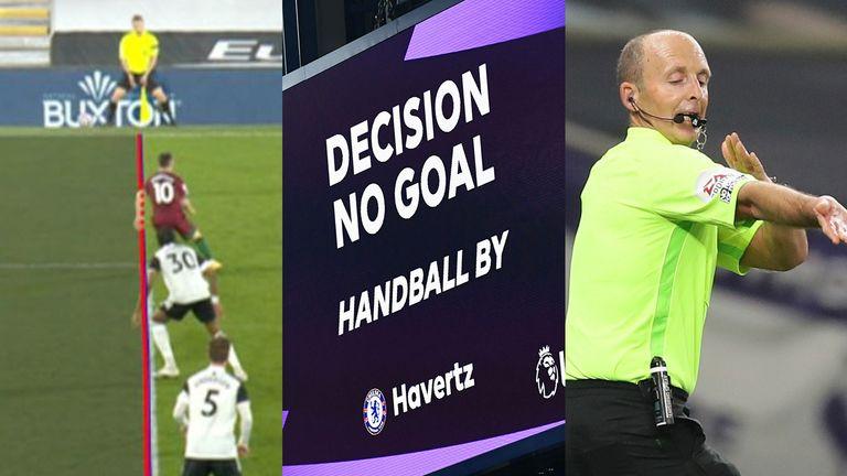Rule changes for 2021/22 VAR handball