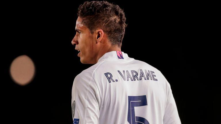 PA: Raphael Varane