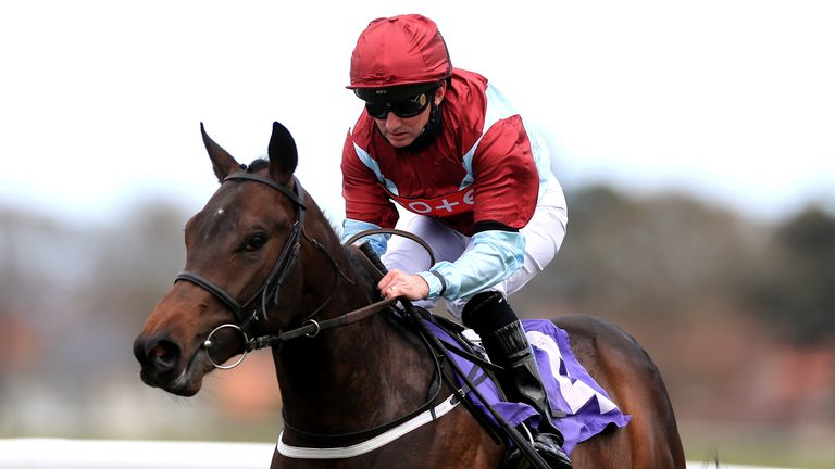 Paul Hanagan rides Vintage Clarets to victory at Beverley in April
