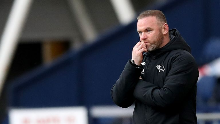 PA - Wayne Rooney and his Derby side will face Huddersfield on the Championship's opening day