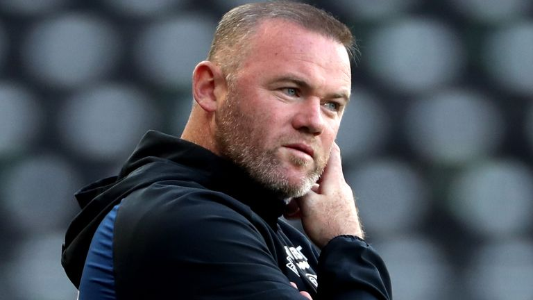 Derby boss Wayne Rooney (PA)