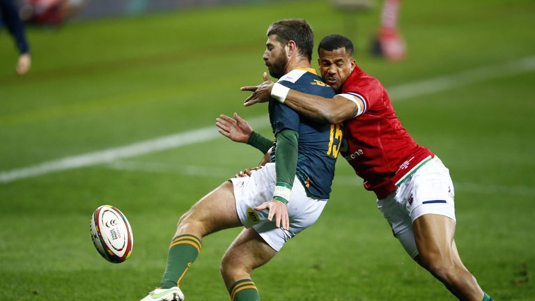 Anthony Watson: British and Irish Lions must start well and win air battle against Springboks |  Rugby Union News