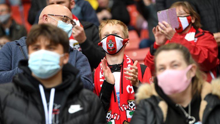 Southampton fans coronavirus