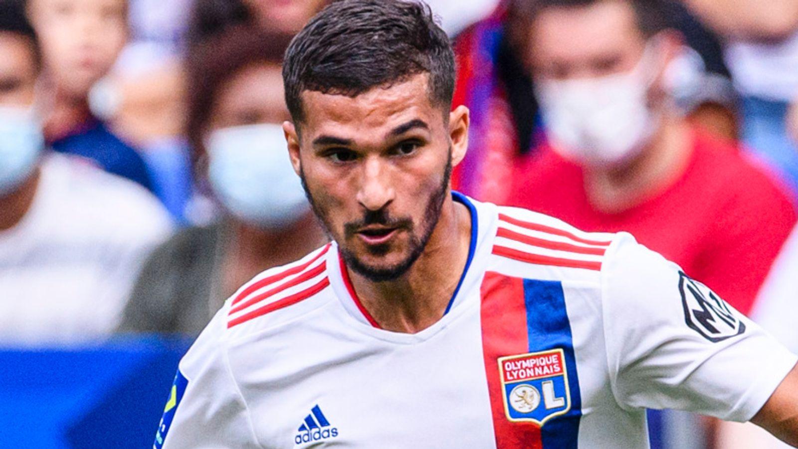 Houssem Aouar is a Tottenham target, and the Lyon midfielder's representatives have held informal conversations.