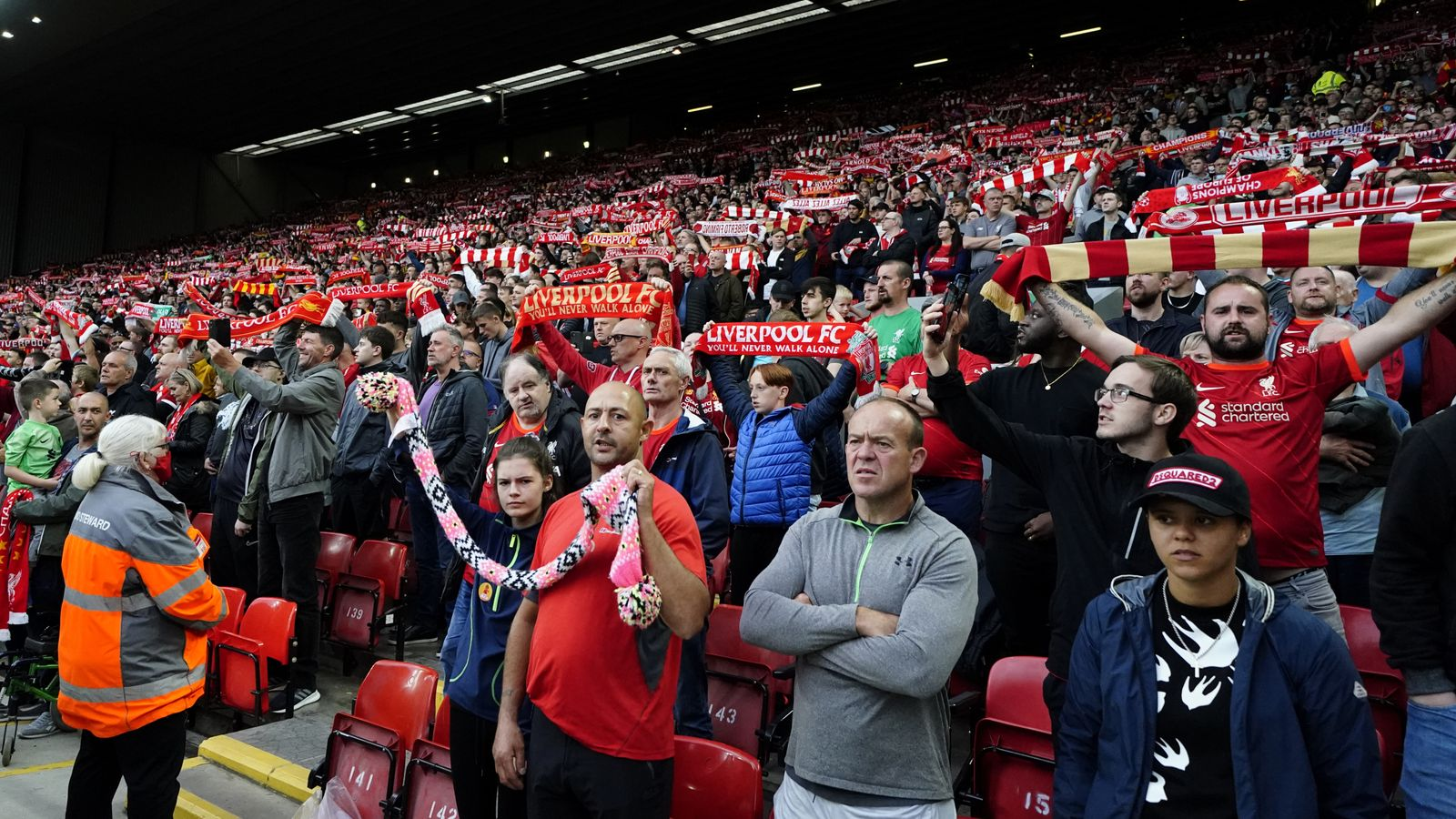 Liverpool confirm Covid-19 spot-checks in operation for supporters attending Manchester City game at Anfield