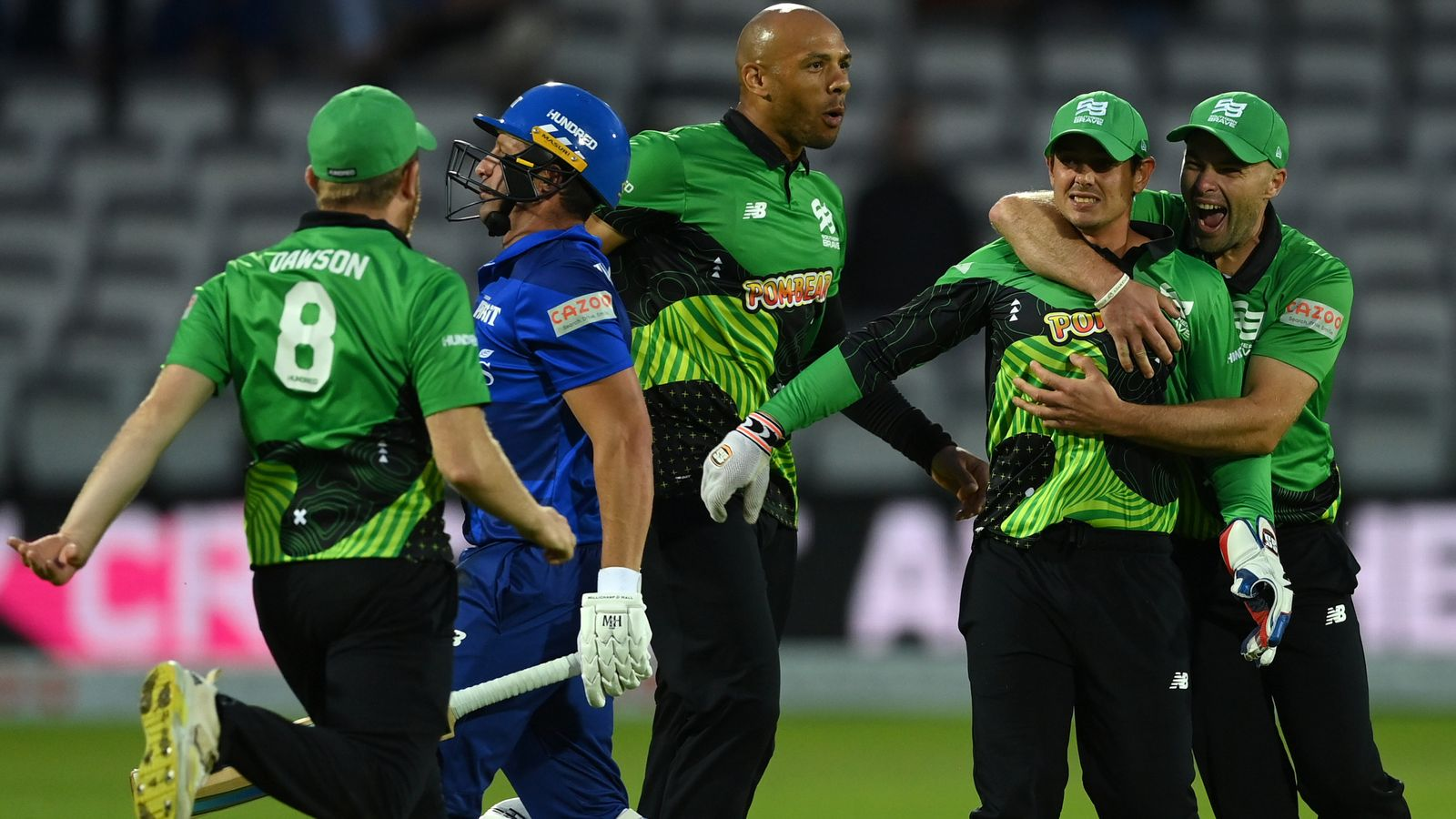 The Hundred: London Spirit remain winless after losing Lord's thriller to Southern Brave