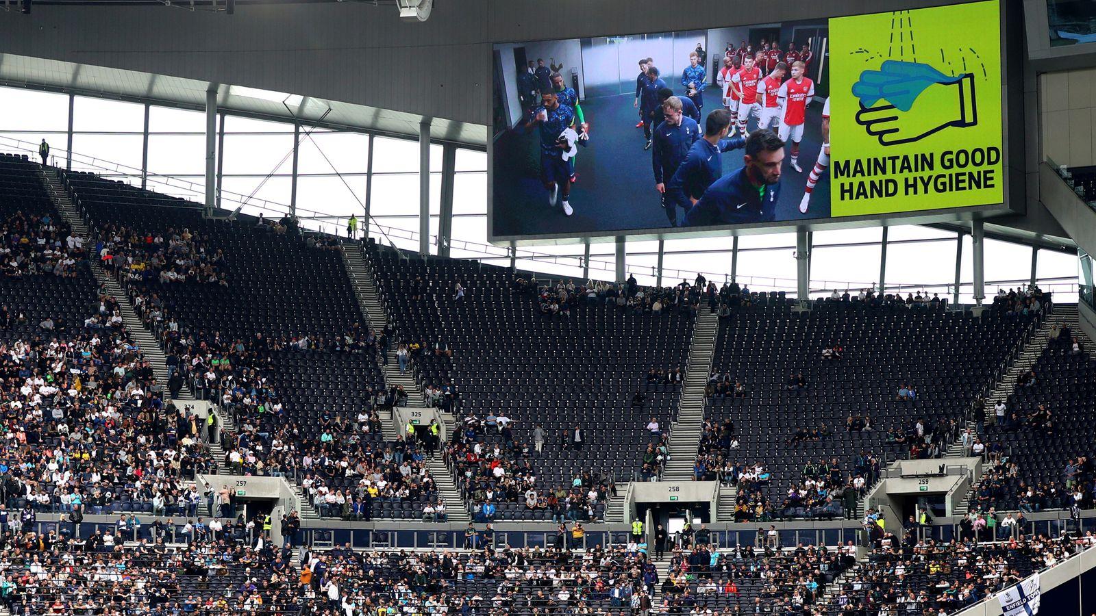 Coronavirus: Premier League announces fans subject to random spot checks on Covid-19 status