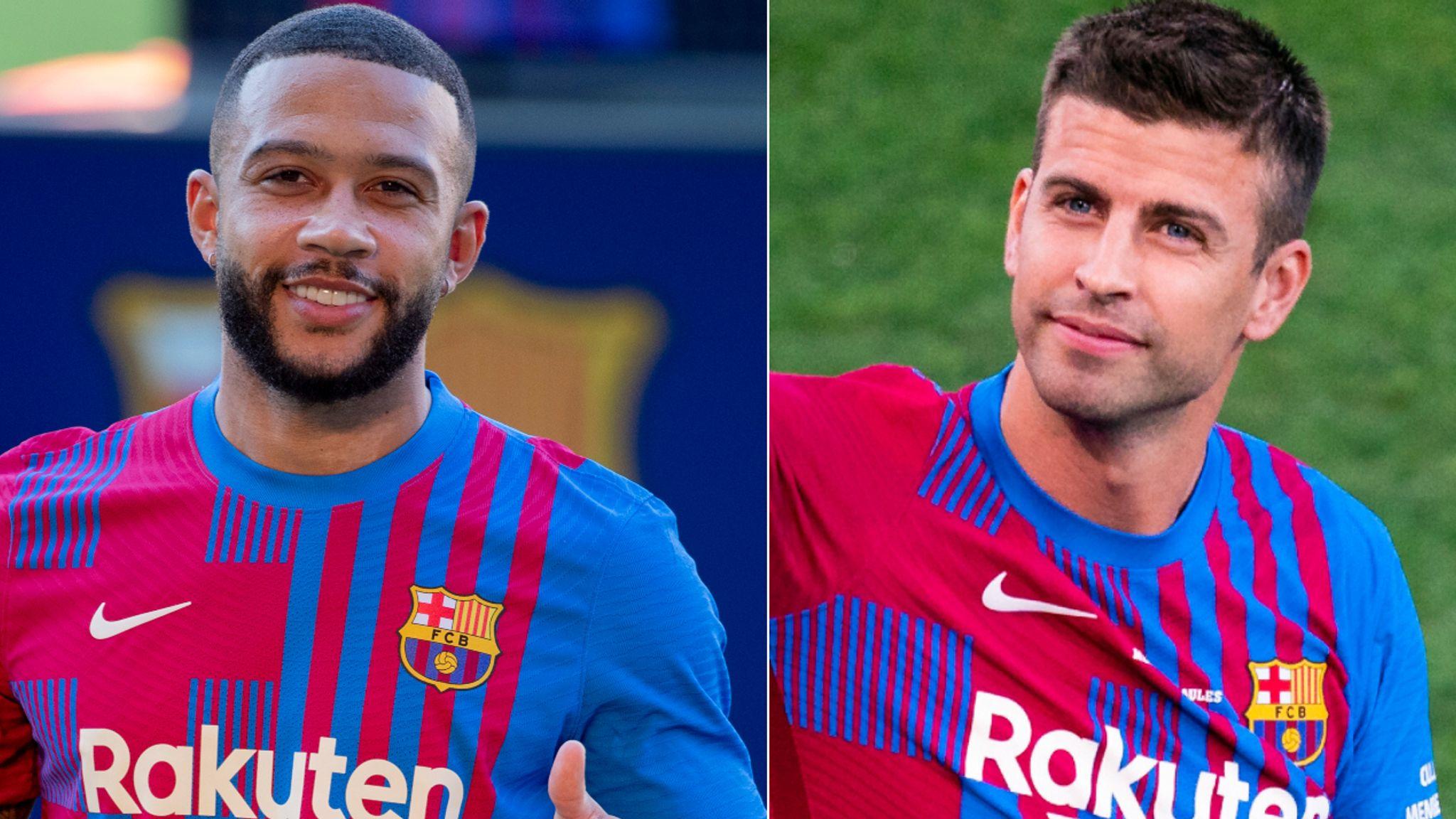 Barcelona register Memphis Depay, Eric Garcia and Rey Manaj after Gerard  Pique takes pay cut   Football News   Sky Sports