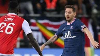 Lionel Messi showcased his talent in his cameo on his PSG debut