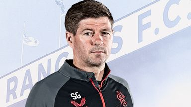 Image from Steven Gerrard interview: Rangers boss embracing the pressure as he tries to sustain a winning culture at Ibrox