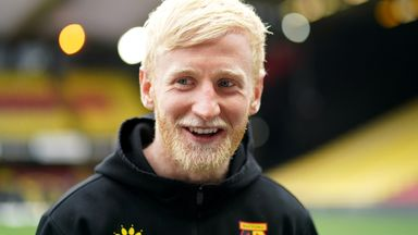 Having turned down a new contract in the summer, Will Hughes trained with Watford