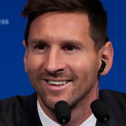 Messi: I chose PSG to win Champions League again