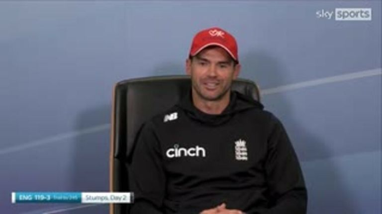 Anderson feels India have the edge going into day three of the second Test