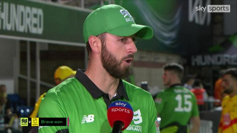 Rockets captain James Vince was full of praise for his side's performance after beating Brave convincingly to grab their spot in The Hundred final