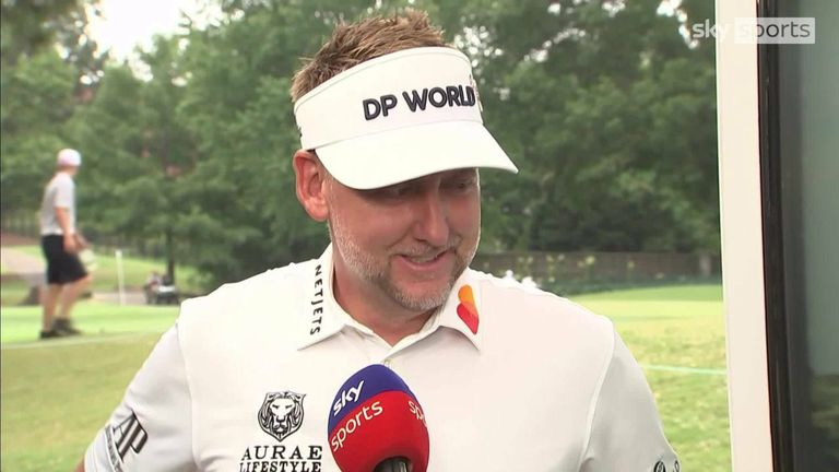 Ian Poulter was happy with his 66 second round as he remained in contention at the WGC-FedEx St Jude Invitational