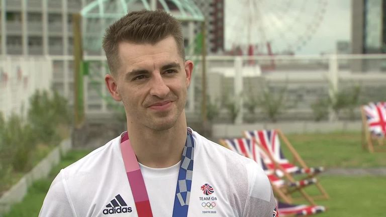 Max Whitlock hopes to compete at the Paris 2024 and possibly LA 2028 Olympic Games after successfully defending his individual pommel horse title in Tokyo