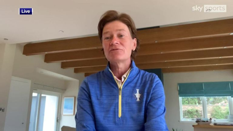 Captain Catriona Matthew is confident in the European team's chances of retaining the Solheim Cup and becoming the first visiting side to win on US soil since 2013