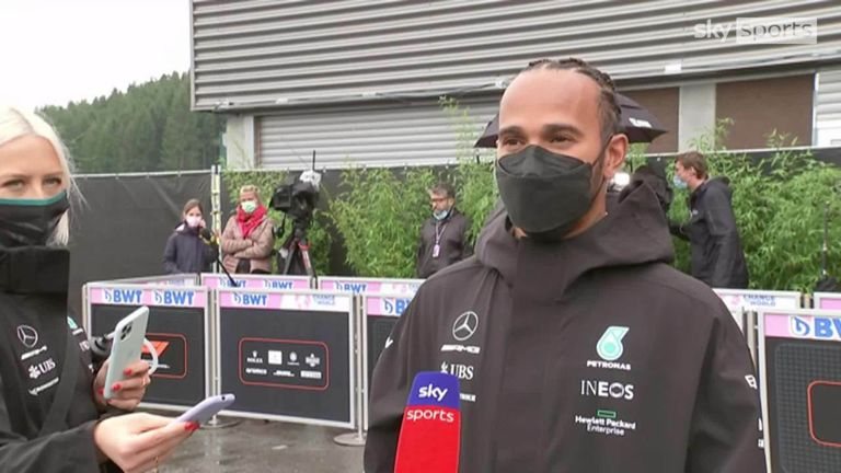 Lewis Hamilton believes he could have finished on pole but the Mercedes driver is optimistic he'll perform well from third in the race at the Belgian Grand Prix.