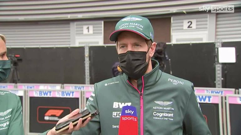 Aston Martin's Sebastian Vettel admits he felt 'bitter' after being disqualified following his second-place finish at the Hungarian Grand Prix