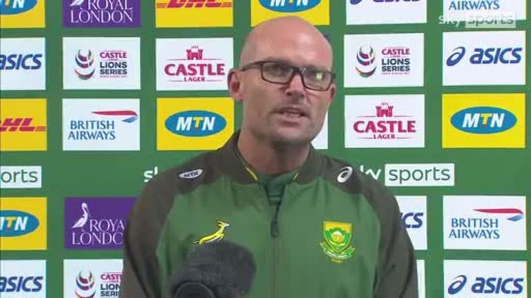 South African head coachJacques Nienaber was glowing in his praise for his players for all the adversity they came through to win the test series against the British and Irish Lions