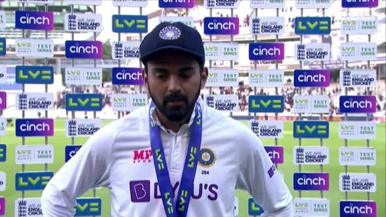 Player of the Match KL Rahul says the players enjoyed the intense rivalry between the teams as India completed a 151-run victory over England at Lord's
