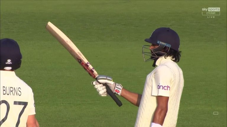 The best of Haseeb Hameed's third fifty in just five Tests