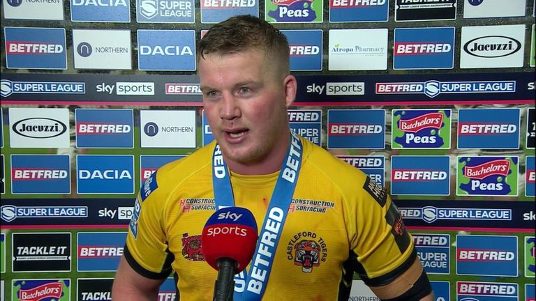 Adam Milner says Castleford Tigers still have a lot of work to do after defeating Hull FC and breaking into the top six
