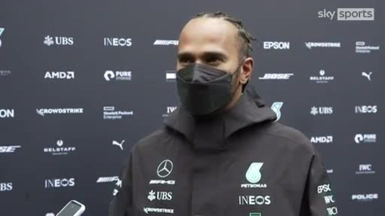 Lewis Hamilton reflects on a positive Friday practice session
