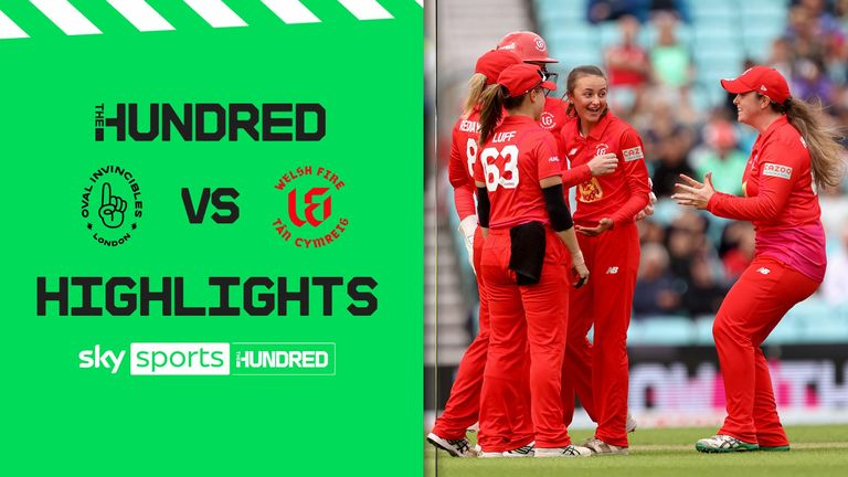 Oval Invincibles Welsh Fire