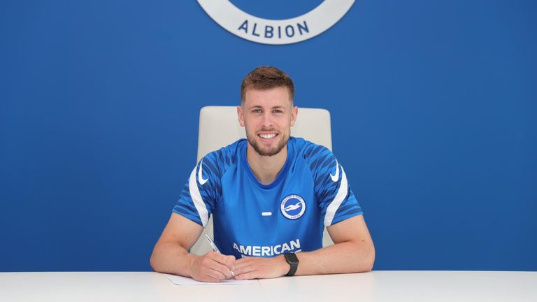 Adam Webster has signed a new five-year contract at Brighton