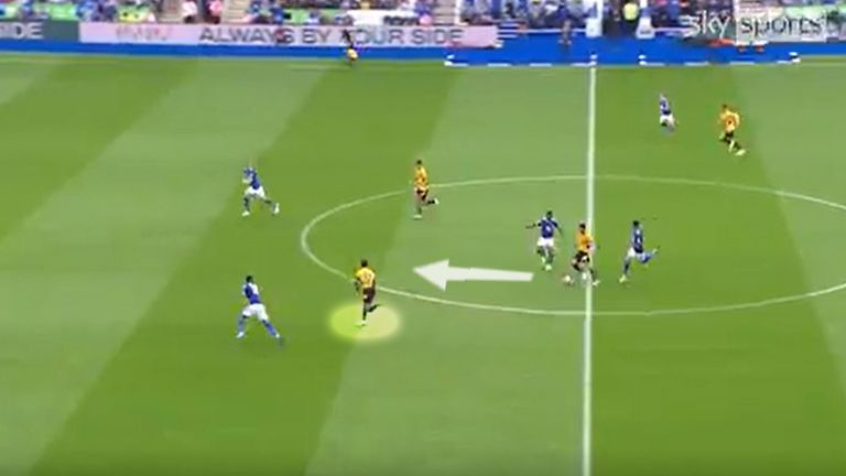 Adama Traore's big chance for Wolves against Leicester on the opening weekend of the Premier League season