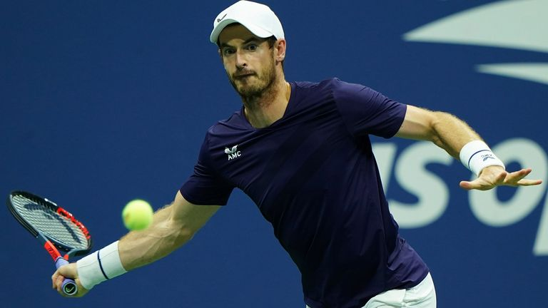 Andy Murray lost to Felix Auger-Aliassime in the second round of the US Open last year