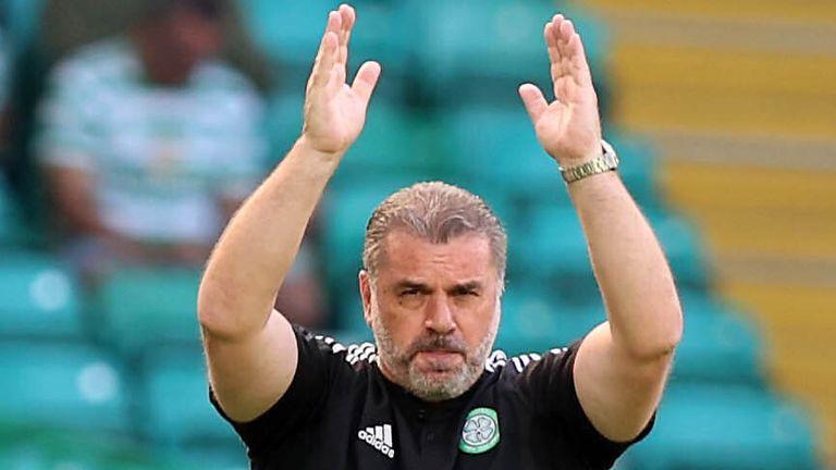 Celtic boss Ange Postecoglou (PA)