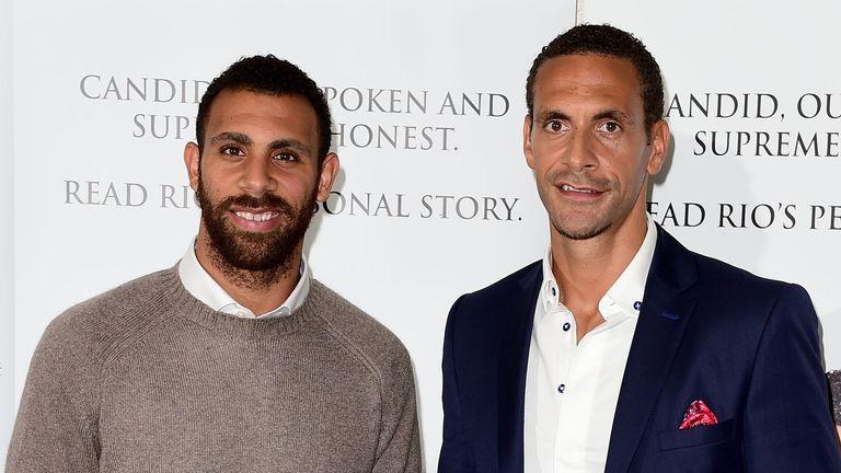 Rio and Anton Ferdinand