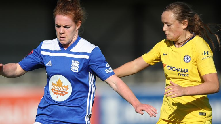 Aoife Mannion spent six years with Birmingham City