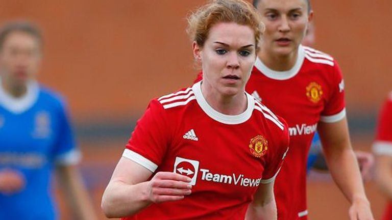 Aoife Mannion's appearance in a pre-season friendly against Rangers was just her third full 90 minutes since 2019