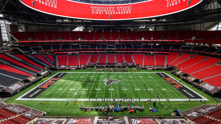 The Falcons will be able to field a full-strength line-up at their home Mercedes Benz Stadium throughout the new season
