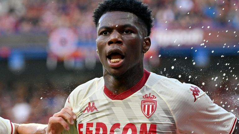AS Monaco's Aurelien Tchouameni was subjected to alleged racist chanting from the Sparta Prague crowd  during their Champions League encounter