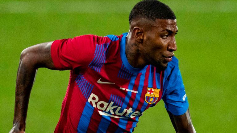Barcelona's Emerson Royal has been on-loan at Real Betis for the last three seasons