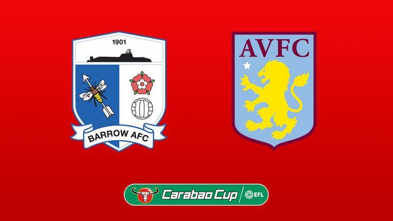 Barrow vs Aston Villa Highlights 24 August 2021